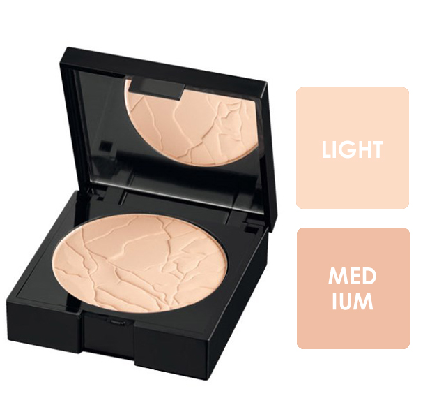 Alcina Matt Sensation Powder - kompaktní make-up a pudr v jednom 9g Light